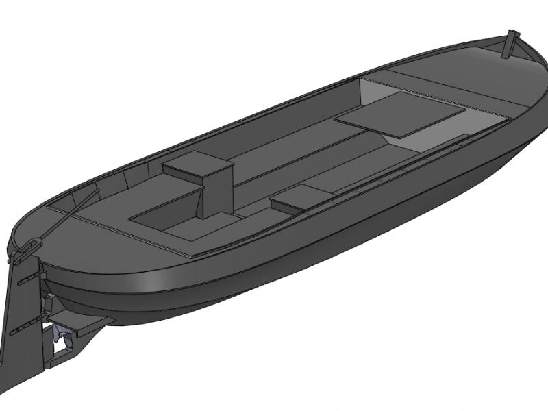 3D model achterzijde 1